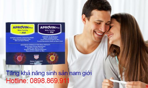aprovin plus hỗ trợ sinh sản nam giới