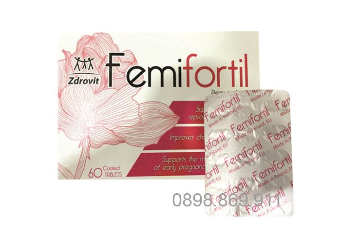 thuốc điều kinh femifortil