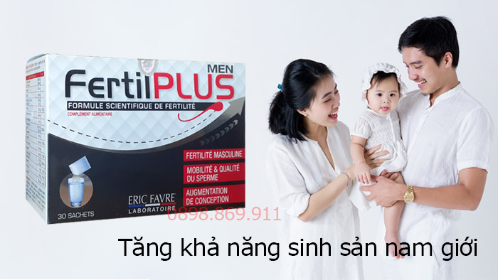 fertil plus men tăng khả năng sinh sản nam giới