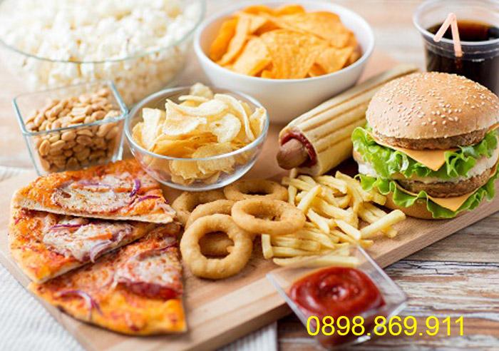 hạn chế những món ăn nhiều dầu mỡ