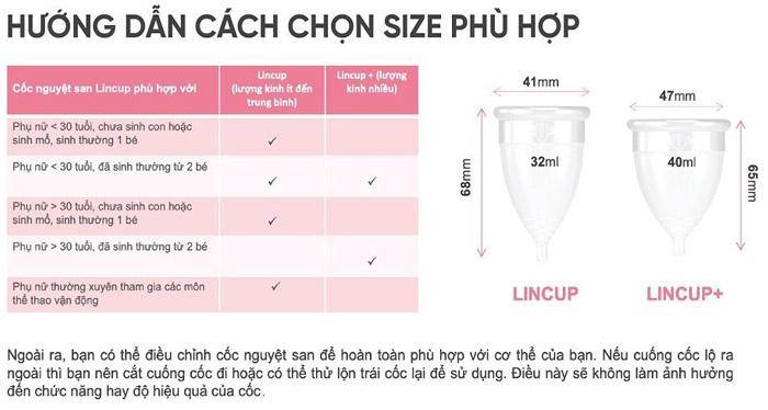 hướng dẫn cách chọn size phù hợp