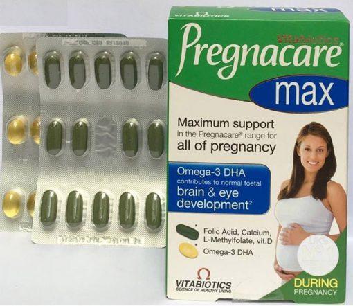 thuốc pregnacare max