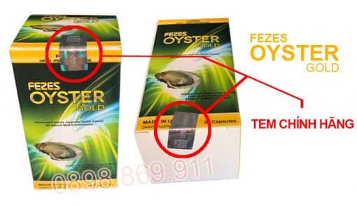 fezes oyster gold chính hãng
