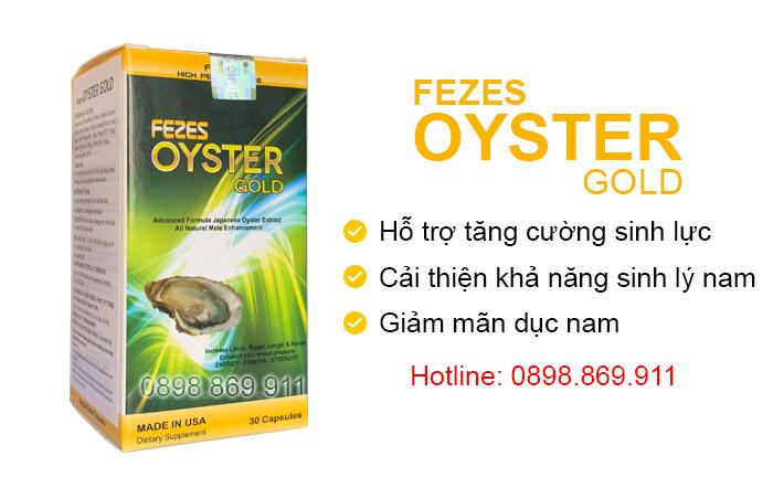 tác dụng oyster gold