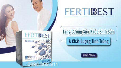 thuốc fertibest bổ tinh trùng