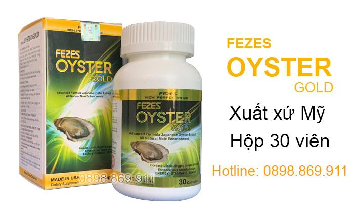 tinh chất hàu fezes oyster gold