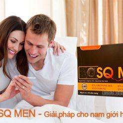 sq men giải pháp cho nam giới hiếm muộn