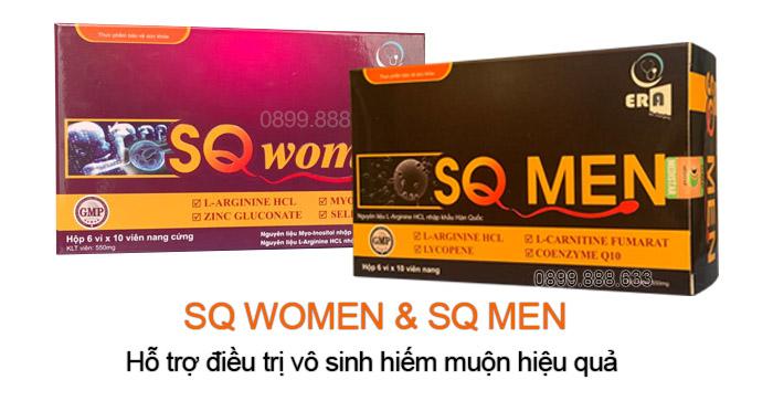 sq women và sq men